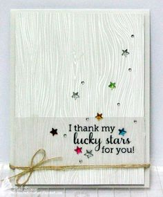 STARS by touch of creation... love the quote!