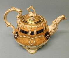 A George Bowers Teapot and Cover