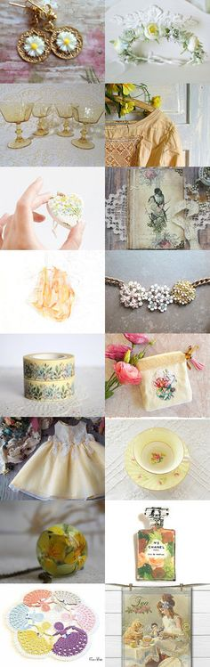Summer sunshine by FrenchPaperMoon on Etsy--Pinned+with+TreasuryPin.com