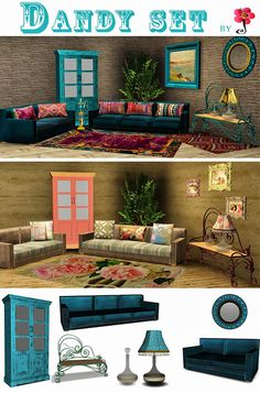 Sims must have - Dandy Set #Sims3
