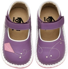 LOVE!!!     See Kai Run Lucia Purple Girls Mary Janes from seekairun.com - cool baby shoes, toddler shoes, kids shoes and baby booties.