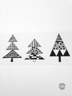 kerst tekening