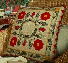 Flower Hand-Appliqué Quilts | AllPeopleQuilt.com
