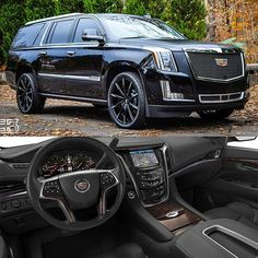 Cadillac Escalade | On @LexaniOfficial Wheels | | www.Lexani.com | (Photo: @C3_rides) #Lexani