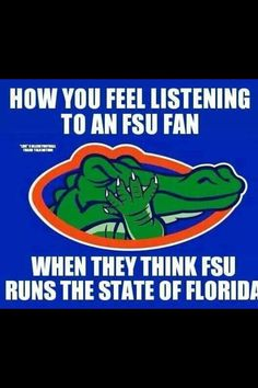 YES!!! I mean, even up in Tallahassee there are Gator fans!