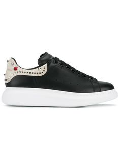 ef7d2d8cf ALEXANDER MCQUEEN embellished heavy sole trainers.  alexandermcqueen  shoes   sneakers