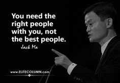 The founder of Alibaba, Jack Ma is no less than a genius. His journey to success is not an easy one. Jack Ma literally created rags-to-riches story. Motivational Quotes For Success, Work Quotes, Me Quotes, Inspirational Quotes, Work Attitude Quotes, Qoutes, Hindi Quotes, Genius Quotes, Amazing Quotes