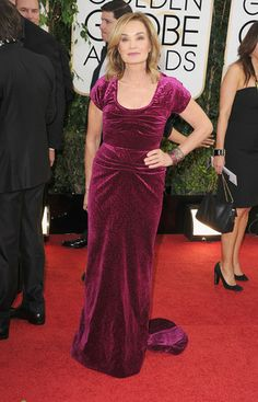 Modest Fashions at the Golden Globes: Jessica Lange