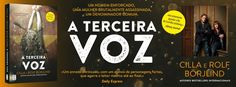 Sinfonia dos Livros: Novidade TopSeller | A Terceira Voz | Cilla e Rolf...