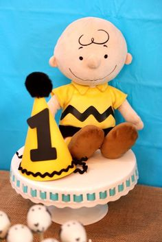 Details from a Peanuts + Charlie Brown Birthday Party via Kara's Party Ideas | KarasPartyIdeas.com (32)