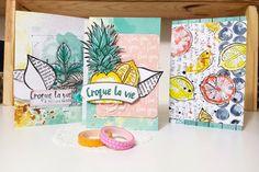 Envie d'un week-end créatif ? Gwen vous livre tous ses secrets pour réaliser des petites cartes aquarellées… à croquer ! Alors préparez votre matériel…. et lancez-vous ! Vous aure…