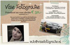 Visie Fotografie - special offer - opening
