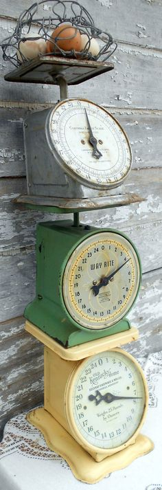 Old Scales.... Just picked one of these old vintage scales up at an estate sale last weekend