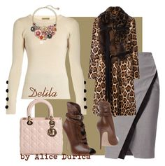 """""""Delila"""" by alice-durica ❤ liked on Polyvore featuring See by Chloé, WtR London, Betsey Johnson, Givenchy, Gianvito Rossi and Christian Dior"""