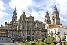 "Santiago de Compostela via the Way of St. James. Inspired by Paulo Cohelo's ""The Pilgrimage""."