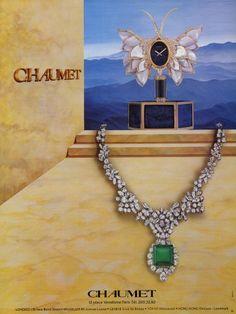 Chaumet (Jewels) 1981 Pendulum Necklace