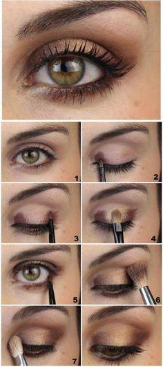 Most Beautiful Eye Makeup Smokey Eye Makeup Glitter - Haare und Beauty - Eye Makeup Glitter, Hazel Eye Makeup, Smoky Eye Makeup, Glam Makeup, Diy Makeup, Makeup Eyeshadow, Makeup Brushes, Makeup Ideas, Smokey Eye