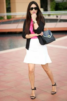 Classic and chic look for office