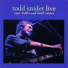 Todd Snider - Near Truth and Hotel Rooms CD