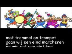 youtube met trommel en trompet