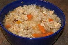 Turkey Wild Rice Soup - Thanksgiving leftovers recipe