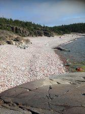 Stone beach, Trysunda, Höga Kusten