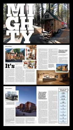 Fort collins magazine summer 2018 home feature layout design by Newspaper Design Layout, Page Layout Design, Newspaper Format, Layout Book, Graphic Design Brochure, Corporate Brochure Design, Brochure Layout, Brochure Template, Editorial Design Magazine