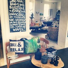 CHILLED & RELAXED | wishing that was true!! No time to relax...so much to do!! Open today 10am to 5pm | come in we are airconditioned | parking out the front #niceshop #twigandmoss #home #art #gift #maitlandnsw
