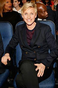 Ellen DeGeneres won her 14th People's Choice Award for her popular daytime talk show. Go Ellen!