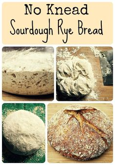 No Knead Sourdough Rye Bread Recipe
