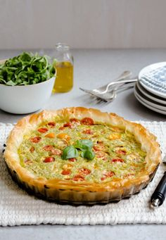 Summer time - or any time, this tart recipe is tasty any time of year. Serve hot with salad for a great value dinner or enjoy on picnics. Dinner Cracked!