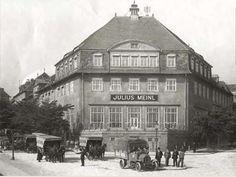 Julius Meinl Werk, Ottakring, 1900 Vienna Austria, Old Things, Louvre, Street View, Black And White, History, Building, Vintage, Photographs