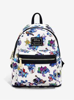 Loungefly Disney Lilo & Stitch Costumes Mini Backpack - BoxLunch Exclusive Source by boxlunchgifts Mini Mochila, Disney Handbags, Disney Purse, Stitch Backpack, Backpack Purse, Lilo And Stitch Costume, Lilo Et Stitch, Disney Stitch, Cute Mini Backpacks