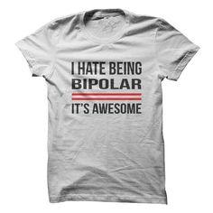 Being Bipolar - T-Shirt – Gnarly Tees