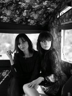 Pearl & Daisy Lowe. I find this mother and daughter duo most intriguing.