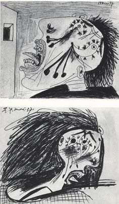 Guernica - Studio - Picasso Picasso Guernica, Pablo Picasso, Opera, Nutrition, Artists, Fine Art, Studio, Drawings, Artwork