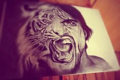 Shared by ωιяηα. Find images and videos about art, amazing and drawing on We Heart It - the app to get lost in what you love. Amazing Drawings, Cool Drawings, Amazing Art, Amazing Sketches, Drawing Stuff, Drawing Board, Tigre Tattoo, Lion Tattoo, Inspiration Tattoos