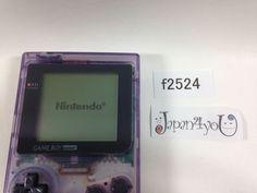f2524 GameBoy Pocket Clear Purple Console Japan J4U | eBay