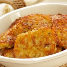 A great potato recipe that is so delicious and can have so many variations.. Potato Pancakes Recipe from Grandmothers Kitchen.