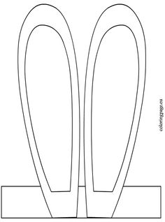 Really easy bunny ears you don 39 t really need to print the for Bunny ears headband template