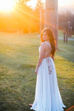 Our Hilary Dress  Model: Tanpreet Parmar Photography: Simply Sweet Photography by Nomo Akisawa #ellebay #bridal #brides #wedding #destinationwedding #dress #beachdress