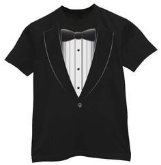 Tuxedo Tshirt by TheRedCaboose on Etsy, $9.99