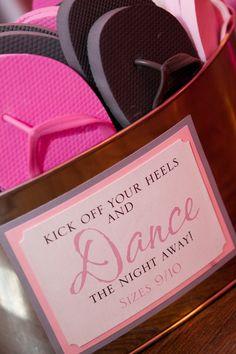 Flip Flop Basket. Design & Paper Goods by Donna Kim of ThePerfectDetails.com