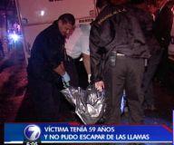Hombre muere en incendio de vivienda en Sagrada Familia