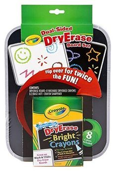 Crayola Dual-Sided Dry Erase Board (4-Pack) * For more information, visit