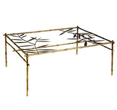Chic cocktail table from Salvations Architectural Furnishings through The Menagerie, Ltd., Suite 323