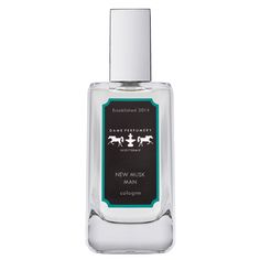 Dame Perfumery - New Musk Man Cologne - New Musk Man combines lemon, plum, lily of the valley, jasmine, rose, vanilla, sandalwood and a majority of musk to make a comforting, sumptuous signature. Dame Perfumery Colognes are neatly drawn, subtle and captivating, just like the men who wear them.  Also available in a sample size!