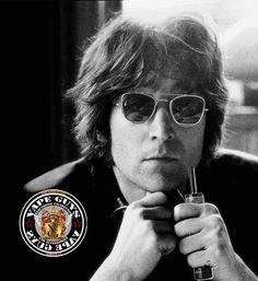 John Lennon vaping e-cig..The Beatles