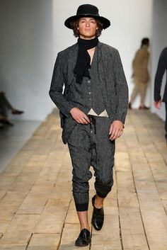 Greg Lauren Spring 2016 Menswear Fashion Show: Complete Collection - Style.com