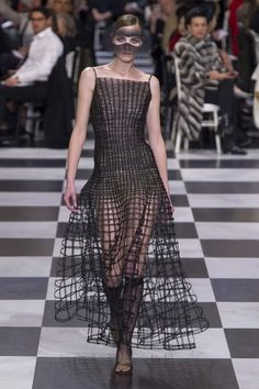 View the full Spring 2018 couture collection from Christian Dior.